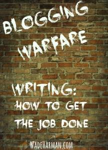 blogging writing