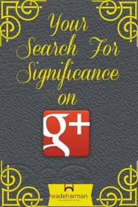 significance on google plus