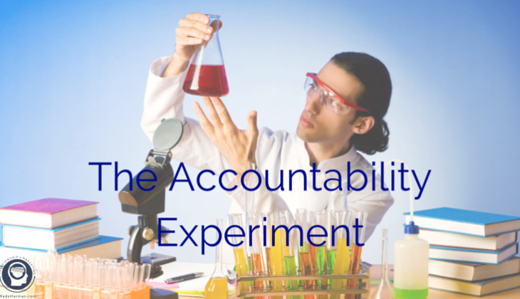 the accountability experiment in social media