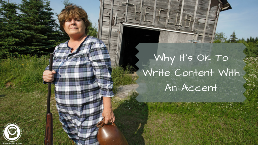 Why It's Ok To Write Content With An Accent