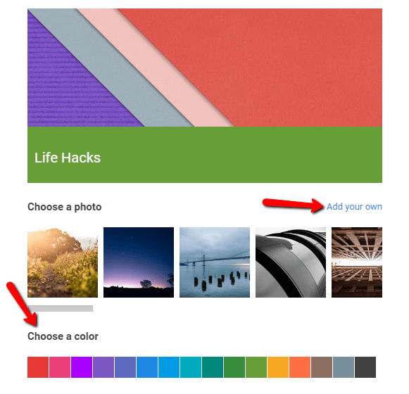 build your google plus collection