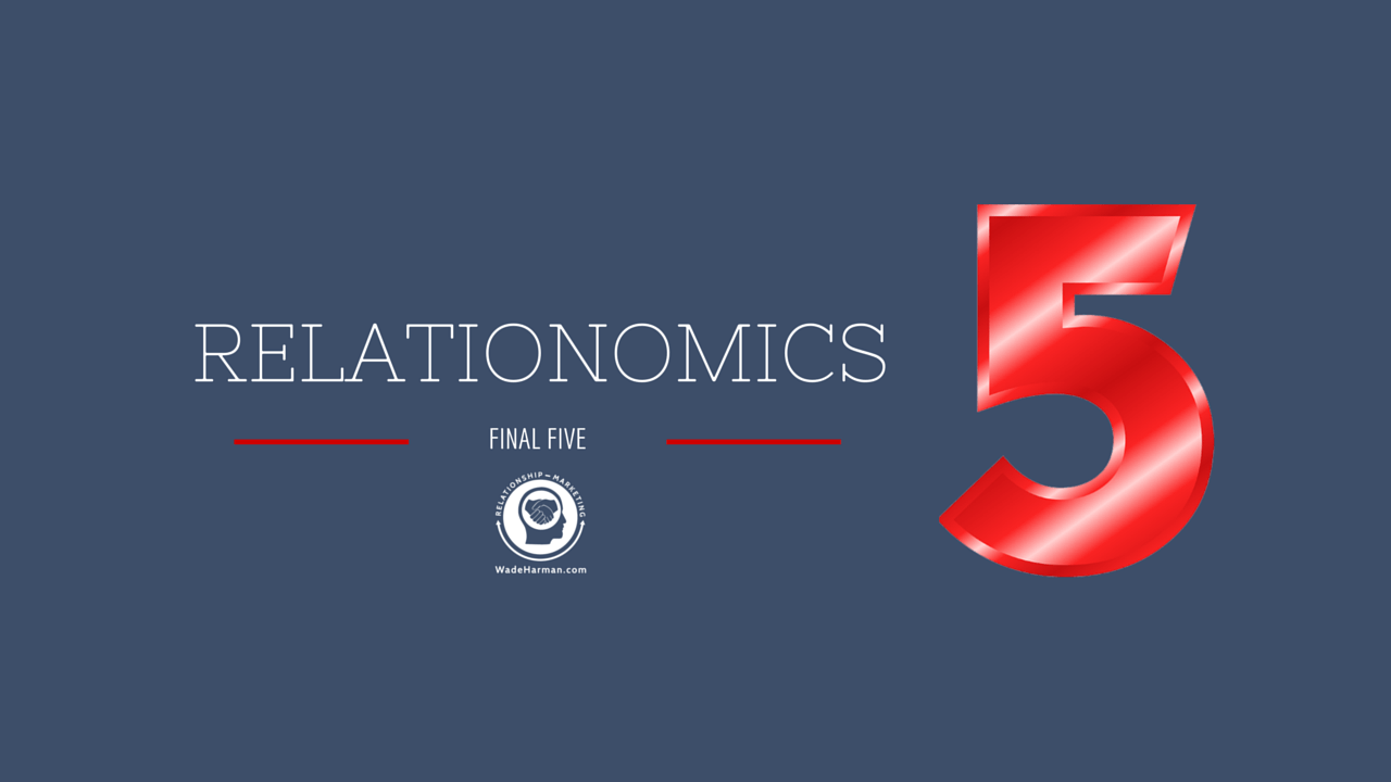 RELATIONOMICS and marketing