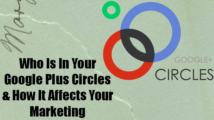 Who Is In YOUR Google Plus Circles?